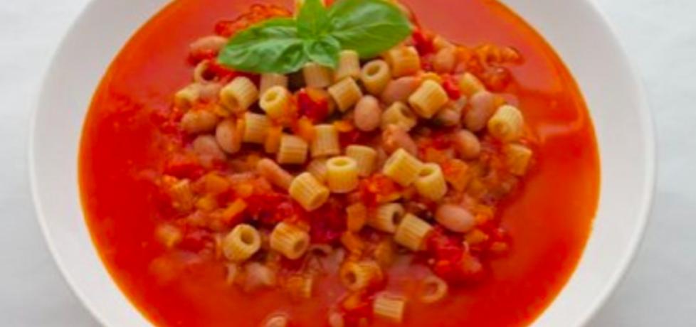 Zupa z fasolki borlotti z makaronem (autor: emeslive ...