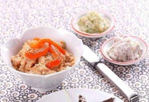 Pasta z pieczonej papryki i tuńczyka