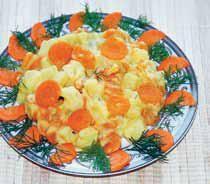 Ziemniaki z marchewką