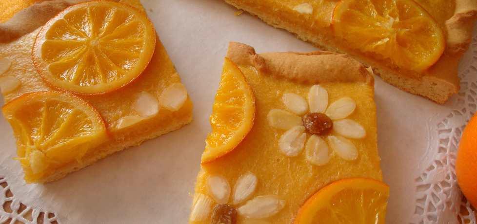 Mazurek pomarańczowy (autor: jadwigajaga85)