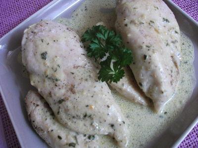 Piersi kurczaka w sosie musztardowym