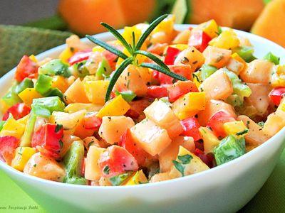 Rasadaar salad