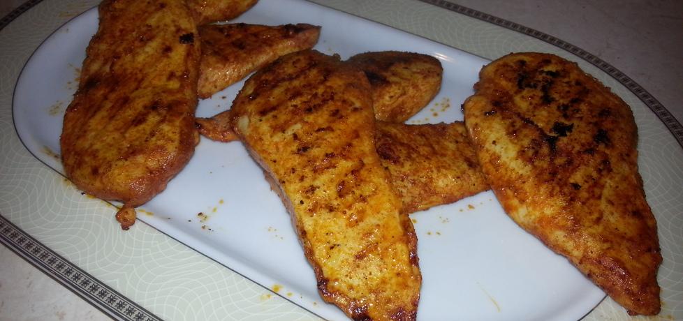 Grillowane piersi z kurczaka z sosem czosnkowym (autor: bertpvd ...