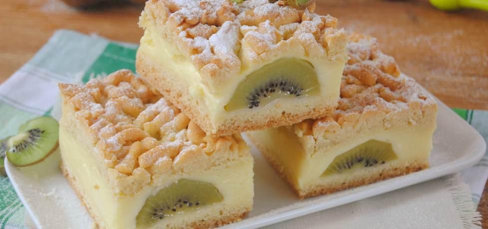 Kruche ciasto z kiwi (autor: jadwigajaga85)