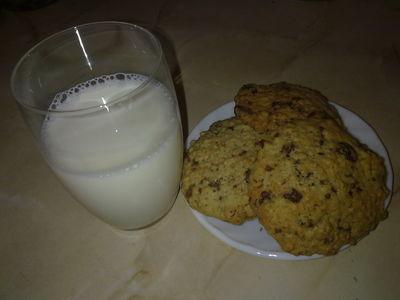 Ciasteczka owsiane a'la pieguski