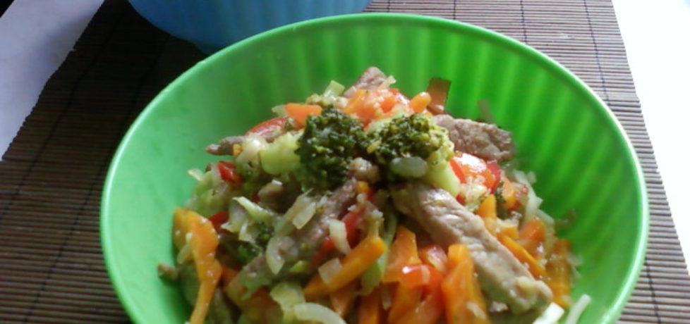 Wieprzowina z warzywami (autor: wedith1)
