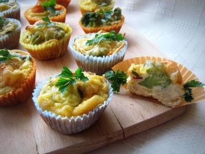 Muffinki jajeczno