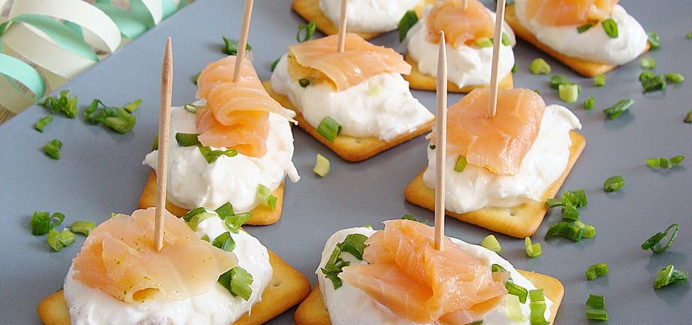 Krakersowe kanapeczki z łososiem (autor: 2milutka ...