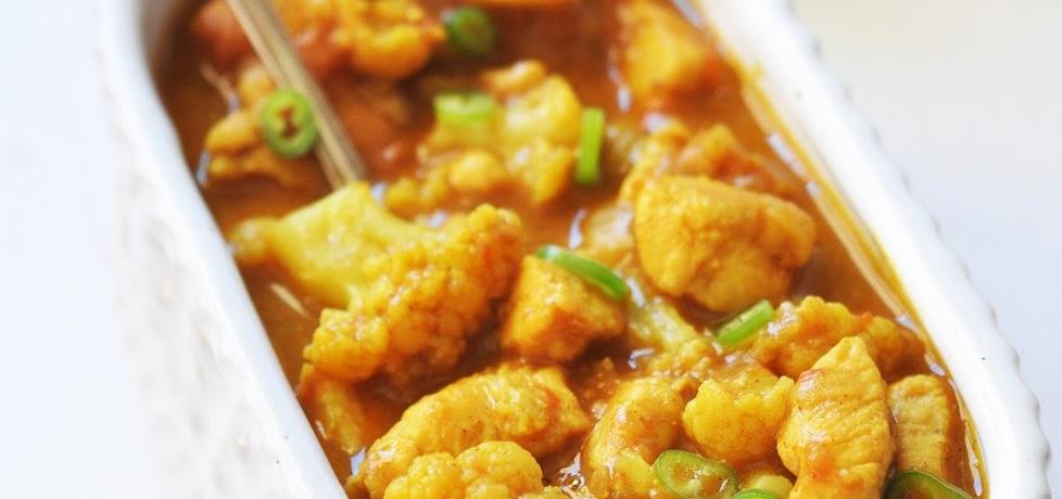Curry z kurczakiem i kalafiorem (autor: kardamonovy ...