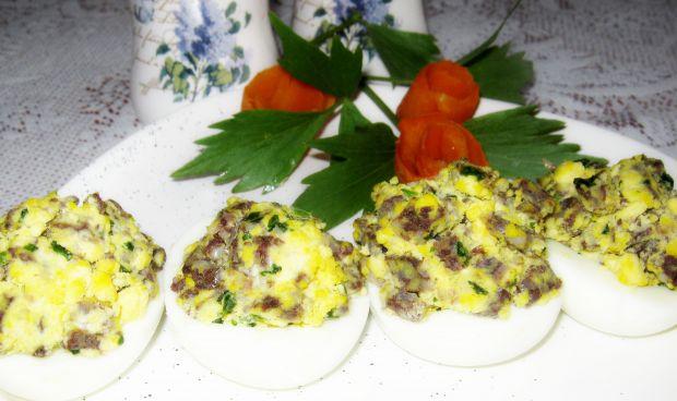 Przepis  kaszanka w jajku przepis