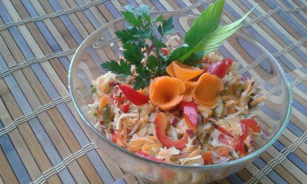 Przepis  sałatka do obiadu przepis