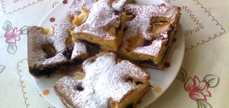 Ciasto jabłkowo- jagodowe (autor: katarzyna59)
