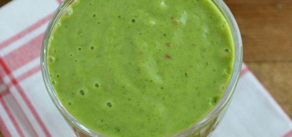 Zielony koktajl z mango i siemieniem lnianym (autor: mufinka79 ...