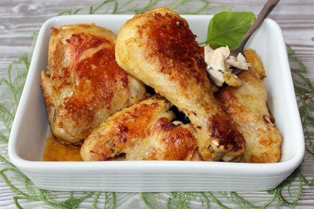 Przepis  pieczony kurczak z rosołu przepis