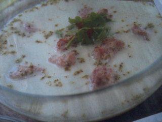 Zupa serowo cebulowa z pulpetami