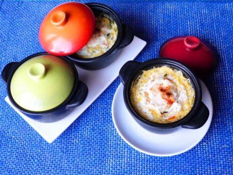 Przepis  dynia makaronowa zapiekana z jajkami przepis