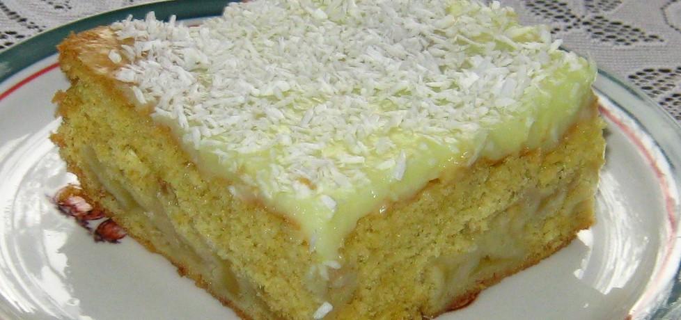 Ciasto z jabłkami i budyniem (autor: katarzynka455 ...