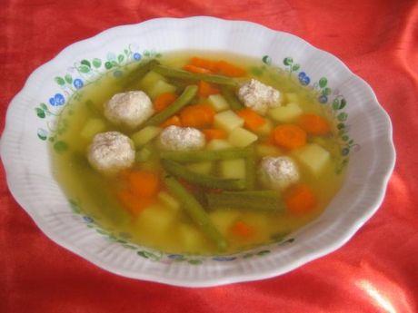 Zupa z pulpecikami  sposób przygotowania