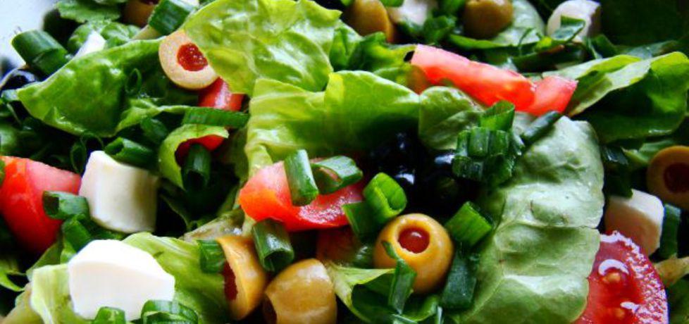 Sałatka grillowa z mozzarellą (autor: iwa643)