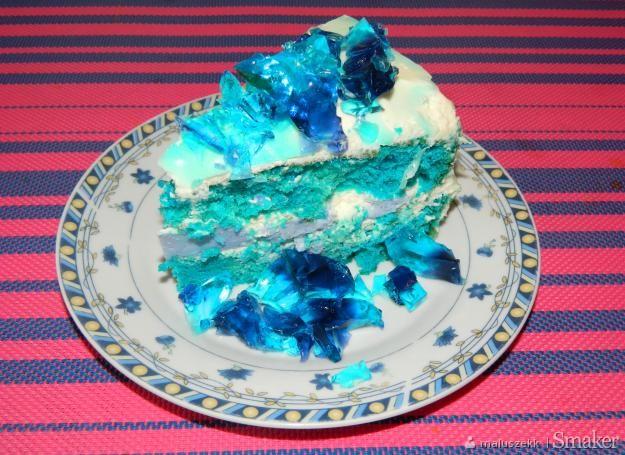 Tort elza, inspirowany bohaterką z bajki kraina lodu