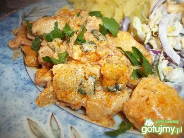 Przepis  pikantna pierś z kurczaka przepis