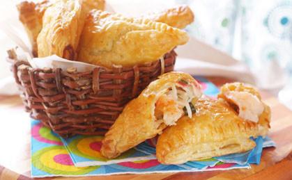 Francuskie rożki z owocami morza