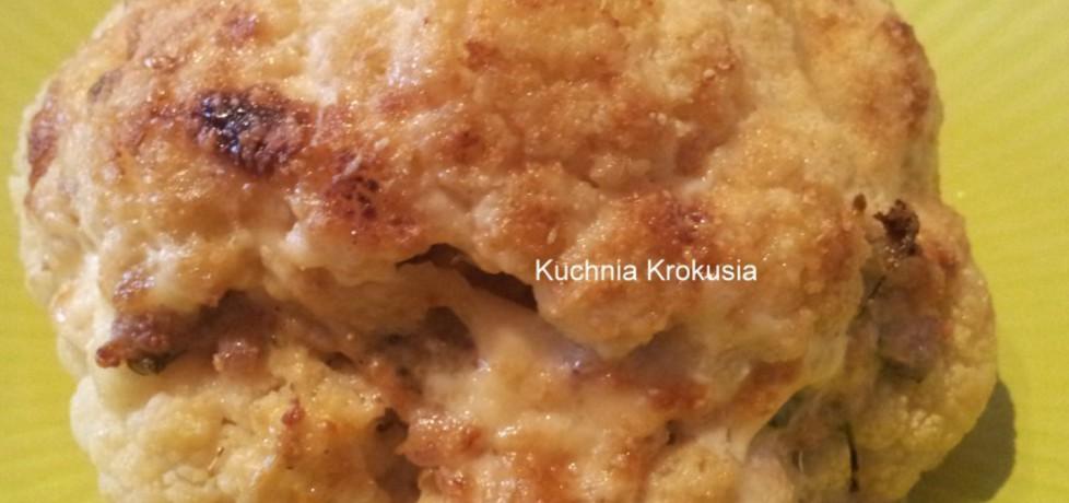 Kalafior nadziewany mięsem mielonym (autor: krokus ...