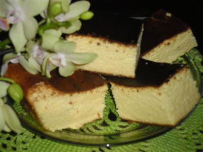 Sernik wiejski z białą czekoladą