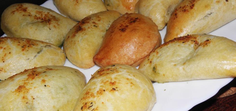 Pierogi pieczone ze szpinakiem i serem. (autor: ewa104 ...