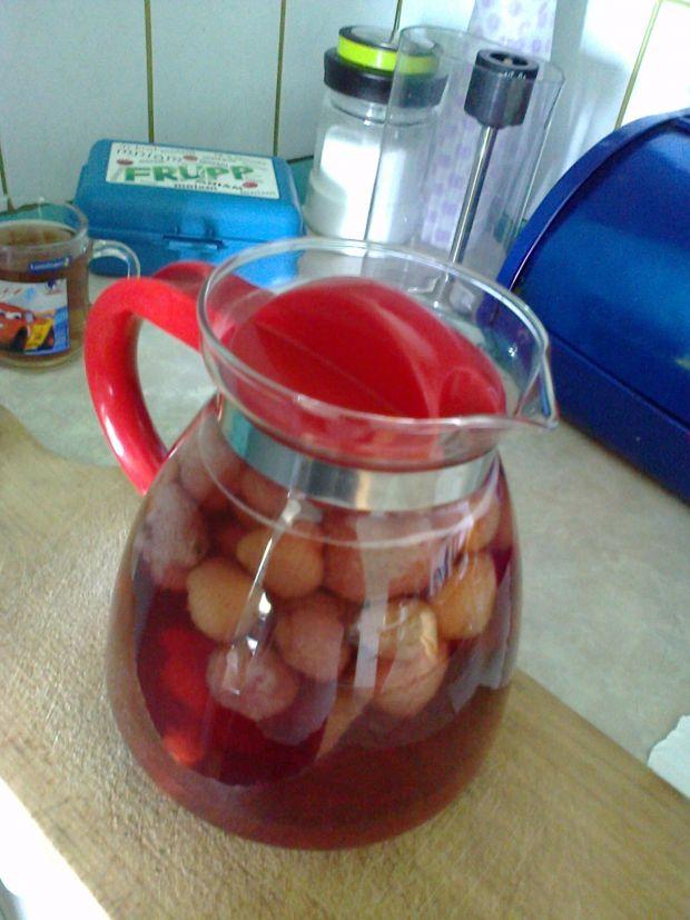 Przepis  domowy kompot truskawkowy przepis