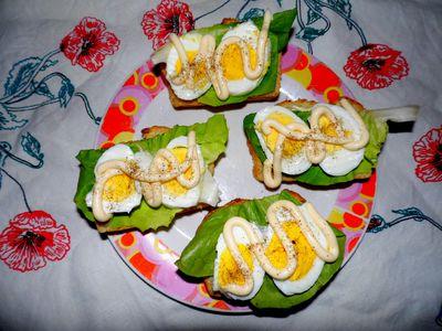 Sławna kanapka z jajkiem!