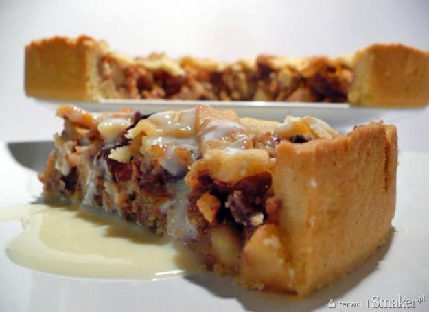 Ciasto z pieczonymi jabłkami
