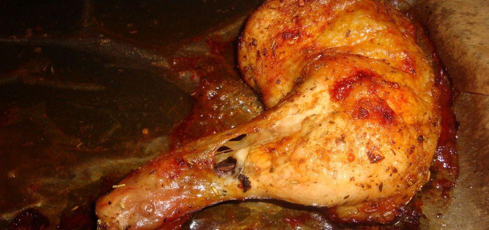 Pieczone udka z kurczaka z chrupiącą skórką (autor: halinah ...