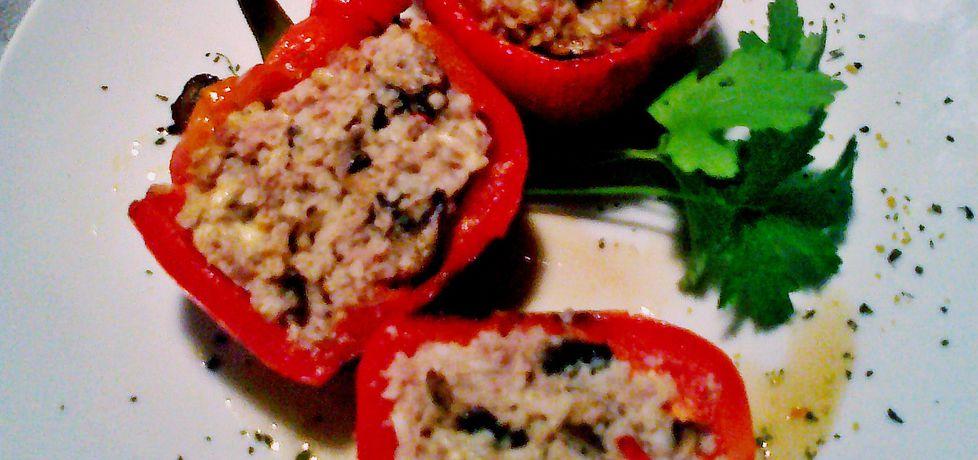 Papryka faszerowana ryżem z mięsem i pieczarkami (autor: niki22 ...