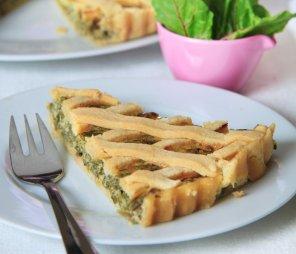 Tarta z botwinką i serem  prosty przepis i składniki
