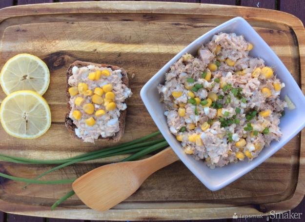 Pasta kanapkowa z tuńczyka z kukurydzą