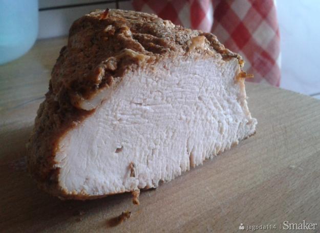 Filet z indyka pieczony w mleku