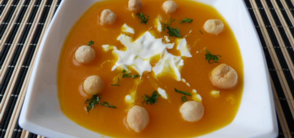 Zupa z dyni z imbirową nutką (autor: renatazet)