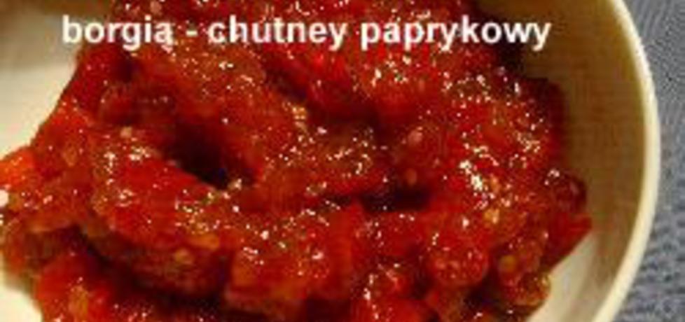 Chutney pomidorowo-paprykowy (autor: borgia)