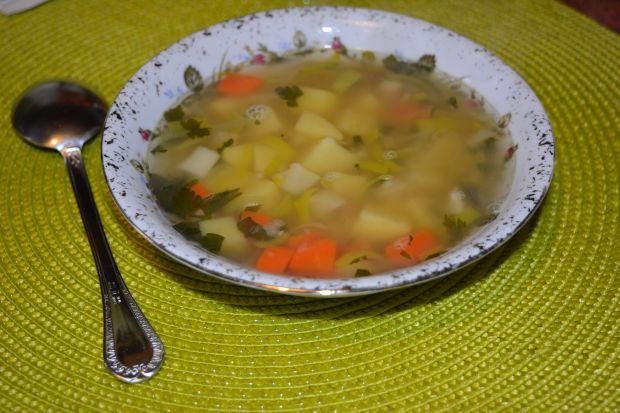 Przepis  zupa porowa z soczewicą przepis