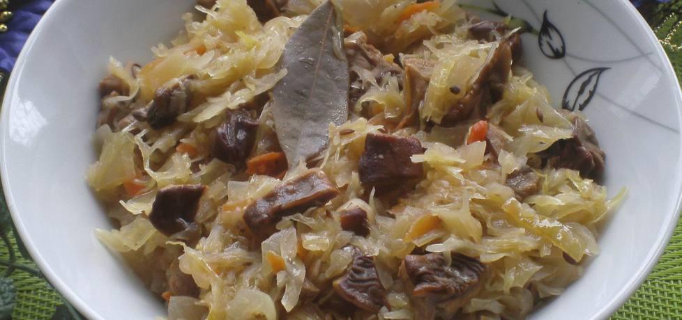 Bigos wigilijny z suszonymi grzybami i jałowcem (autor: katarzyna59 ...