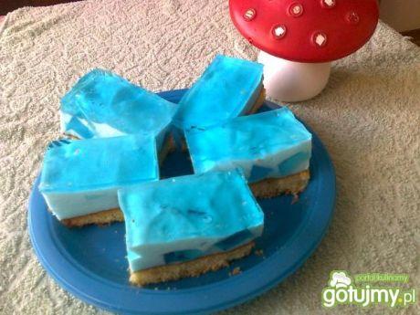 Przepis na ciasto smerfetka