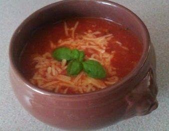 Zupa pomidorowa z mięsem mielonym przepis