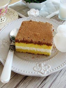 Ciasto limonkowe z czekoladowym musem