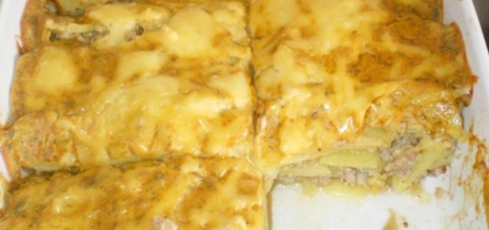 Zapiekanka z ziemniaków i mięsa mielonego (autor: ilka86 ...