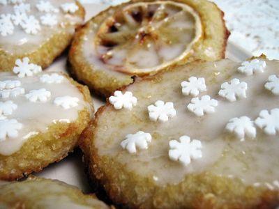 Ciastka jaglane cytrynowe (wegańskie, bezglutenowe ...