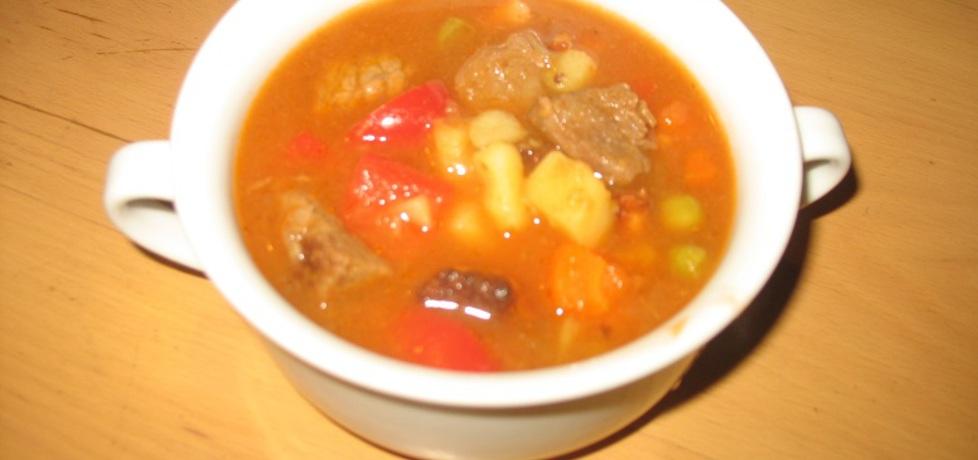 Zupa gulaszowa z wołowiny i boczku (autor: berys18 ...