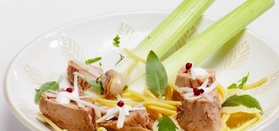 Spaghetti z tuńczykiem, porem i jogurtem roberta sowy (autor: klub ...