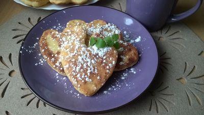 Kokosowe placuszki z serem i maślanką