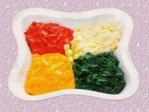 Kolorowe, ziemniaczane puree  gratka dla niejadka